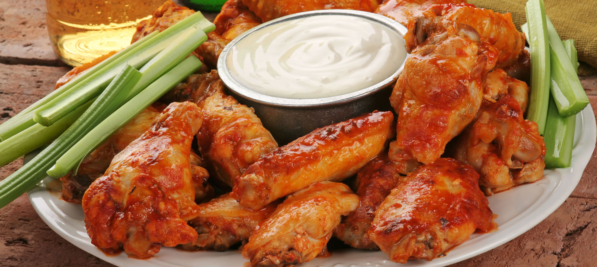 Buffalo Chicken Wings from Wing King Las Vegas Nevada